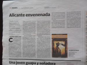 El pais de los ciegos - critica en Ababol - diario La Verdad