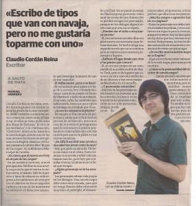 La Verdad 23-10-2011 - Claudio Cerdán - El país de los ciegos