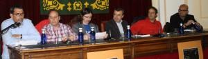 4. VICTOR DEL ARBOL, JAVIER ABASOLO, CLAUDIO CERDAN, LORENZO SILVA, JON ARRETXE Y ALEXIS RAVELO1